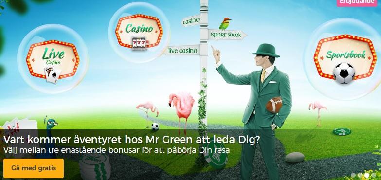 Mr Green Casino Kampanjkod